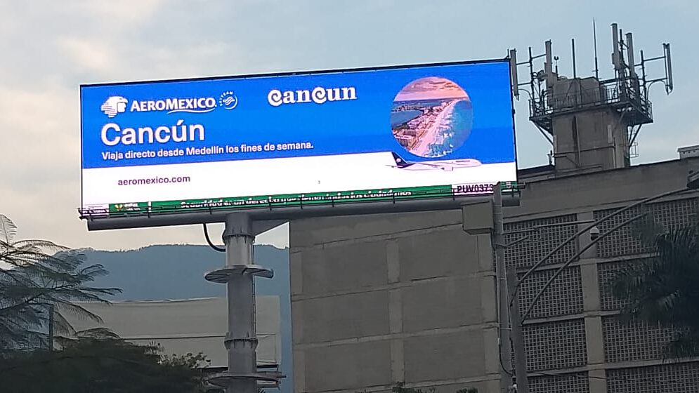 LED Billboard Medellin