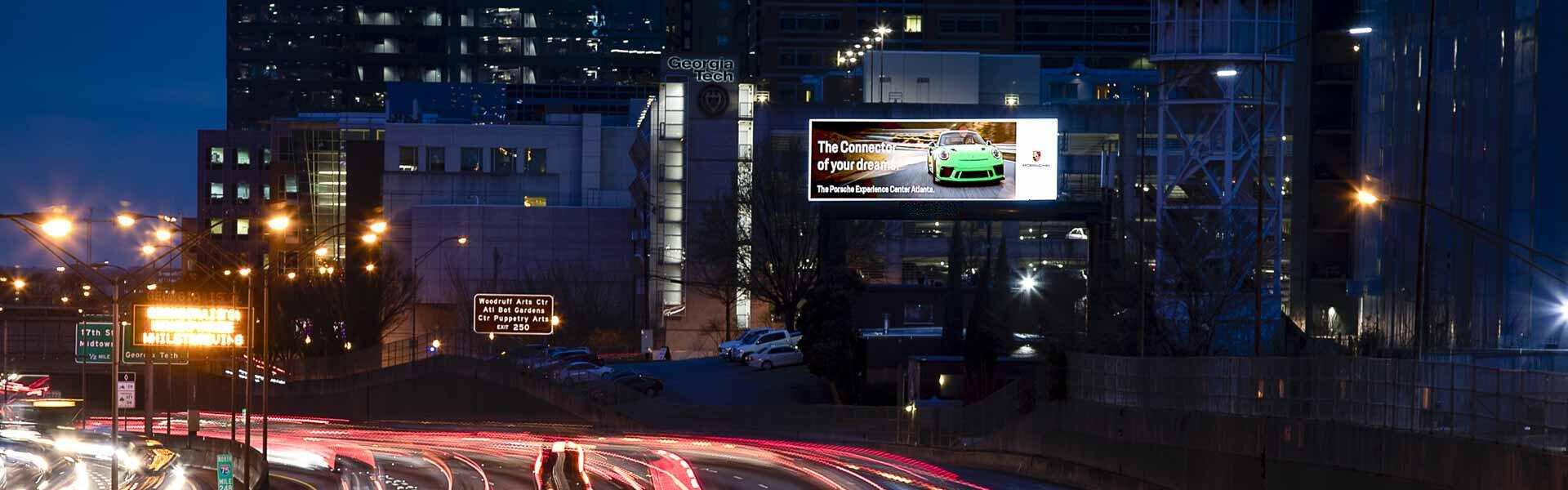 Header LED Billboard