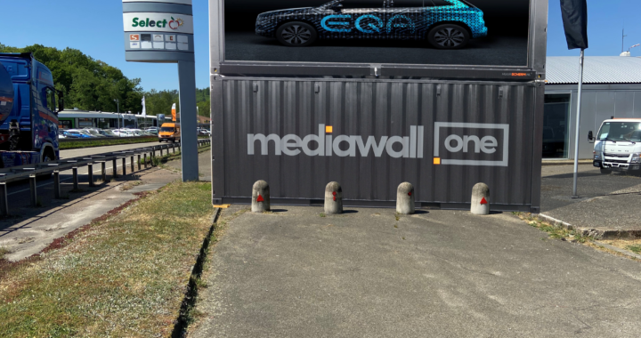 Mediawall LED container Billboard